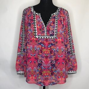 Nicole by Nicole Miller woman's blouse top